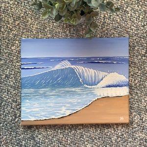 ⭐️Host Pick⭐️ Ocean Oil painting